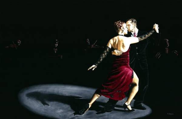 Wall Art - Painting - The Rhythm Of Tango by Richard Young