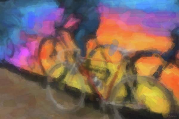 Digital Art - The Ride by Serge Averbukh