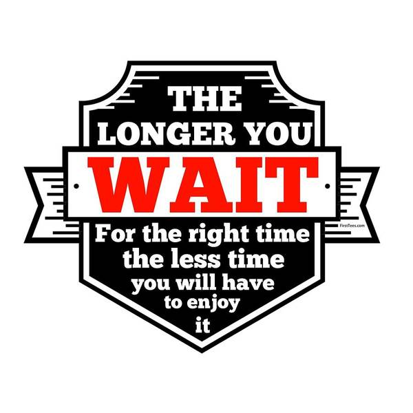 Powerlifting Digital Art - The Right Time Is Now by FirstTees Motivational Artwork