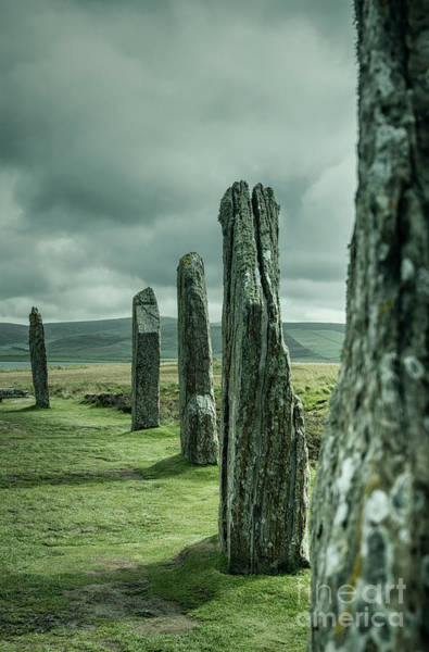 Photograph - The Ring Of Brodgar by David Lichtneker