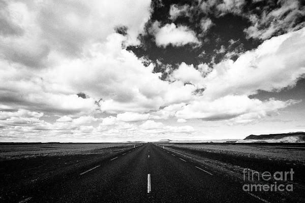 Wall Art - Photograph - the ring road hringvegur Iceland by Joe Fox