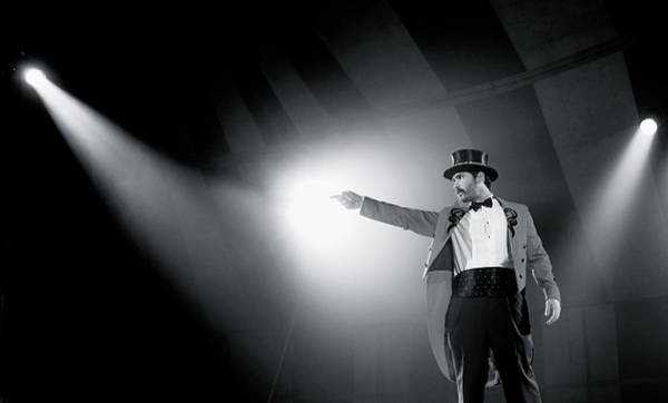 Center Stage Photograph - The Ringmaster by Glennis Siverson