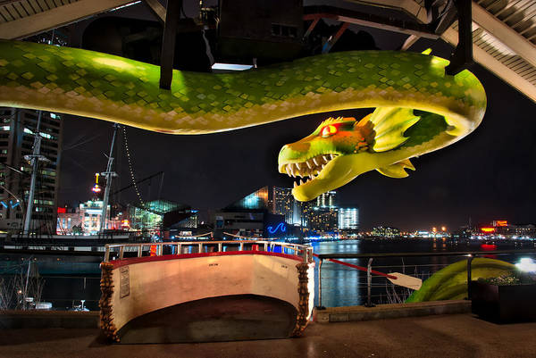 Photograph - The Ripley Dragon by Mark Dodd