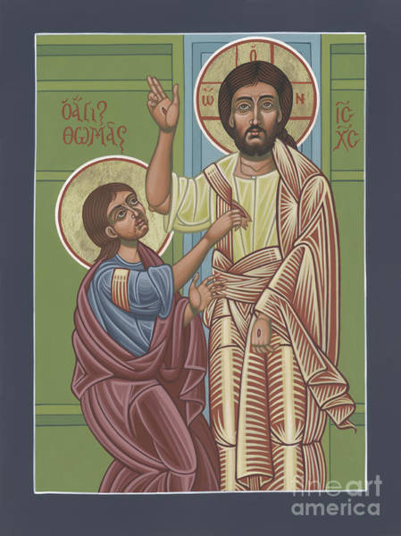 Painting - The Risen Lord Appears To St Thomas 257 by William Hart McNichols