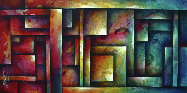 Wall Art - Painting - the Ritual by Michael Lang