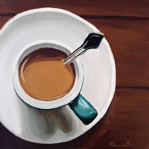 Mocha Painting - The Ritual by Nathan Rhoads