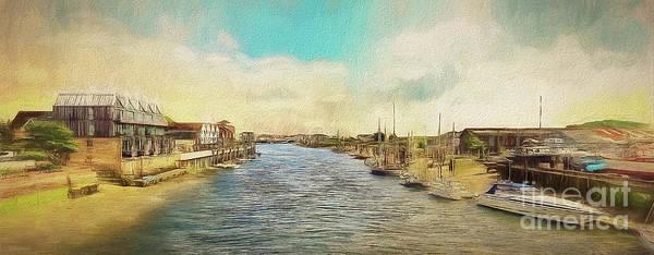 Photograph - The River Arun At Littlehampton by Leigh Kemp