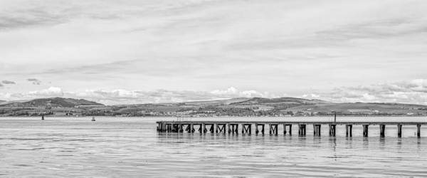 Photograph - The River Clyde At Port Glasgow by Jeremy Lavender Photography