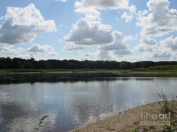 Photograph - The River Elbe In Coswig by Chani Demuijlder