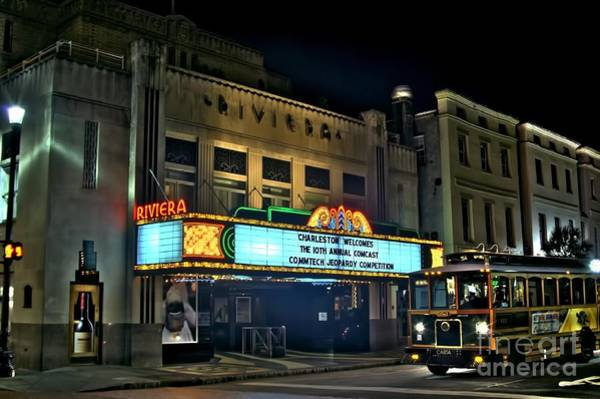 Rockdale County Photograph - The Riveria Theater by Corky Willis Atlanta Photography