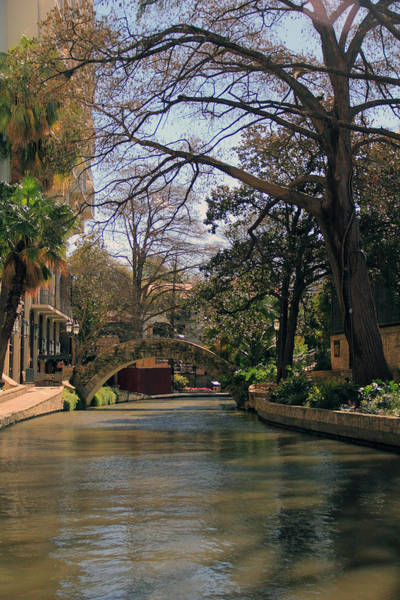 Photograph - The Riverwalk In San Antonio by Angela Murdock