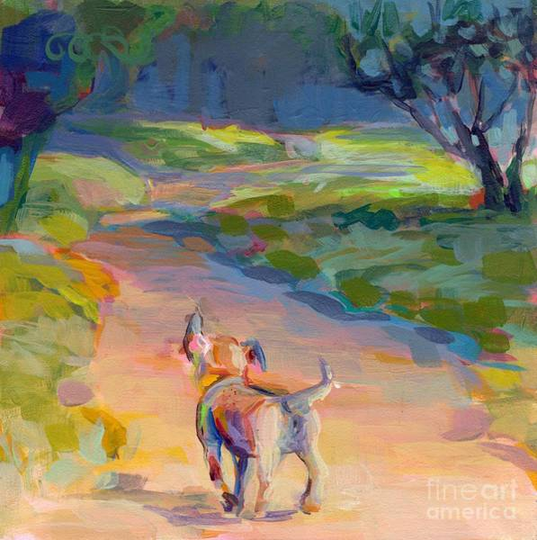 Ears Painting - The Road Ahead by Kimberly Santini