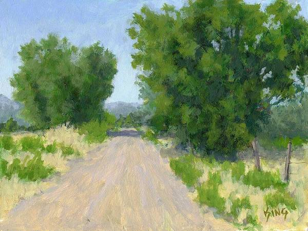 Painting - The Road by David King