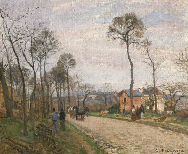 Painting - The Road From Louveciennes by Camille Pissarro