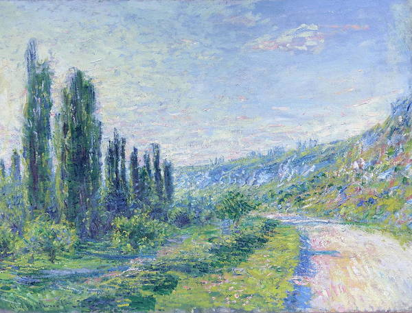 Wall Art - Painting - The Road From Vetheuil, 1880.jpeg by Claude Monet