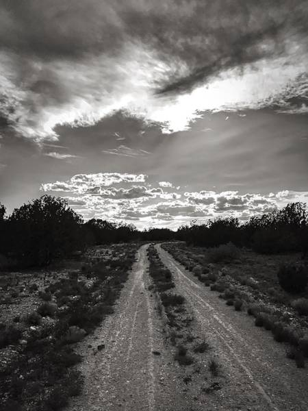 Photograph - The Road Home by Brad Hodges