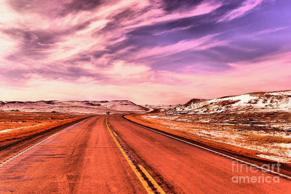 Wall Art - Photograph -  The Road I Choose by Jeff Swan