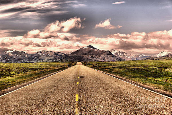Wall Art - Photograph - The Road Into Paradise by Jeff Swan