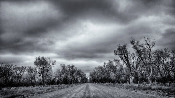 Middle Of Nowhere Photograph - The Road by John K Sampson