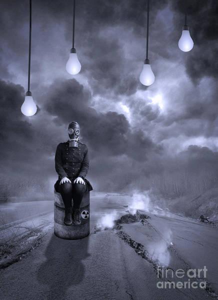 Gasmask Photograph - The Road by Juli Scalzi