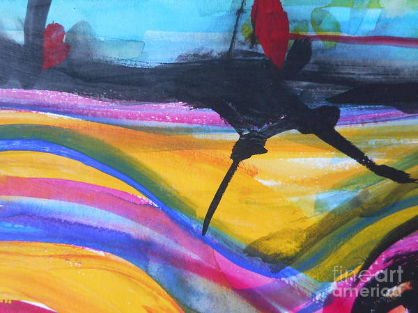 Painting - The Road by Katerina Stamatelos
