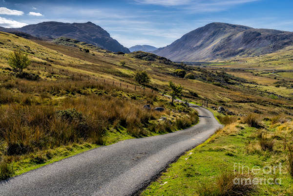 Winding Roads Photograph - The Road Less Travelled by Adrian Evans
