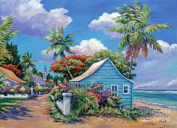 Bahamas Painting - The Road Less Travelled by John Clark