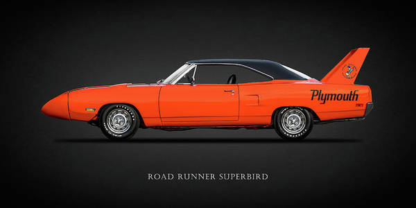 Plymouth Photograph - The Road Runner Superbird by Mark Rogan