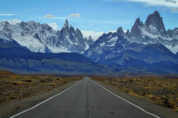 Photograph - The Road To El Chalten - Argentina by Stuart Litoff