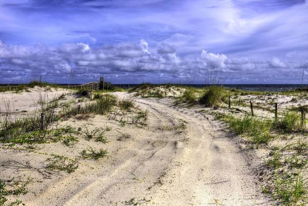 Photograph - The Road To Fort Morgan by JC Findley