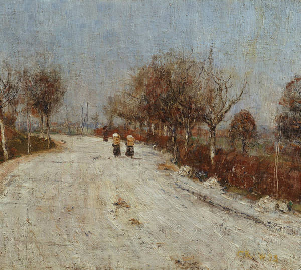 Painting - The Road To Gelmeroda by Christian Rohlfs