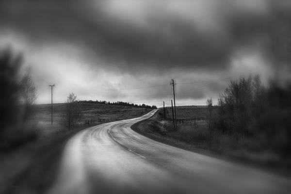 Gloomy Wall Art - Photograph - The Road To Perdition by Theresa Tahara