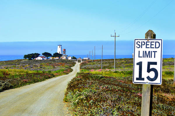 Photograph - The Road To Piedras Blancas Lighthouse by Glenn McCarthy Art and Photography