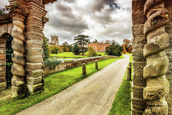 Photograph - The Road To Staunton Harold  by Nick Bywater