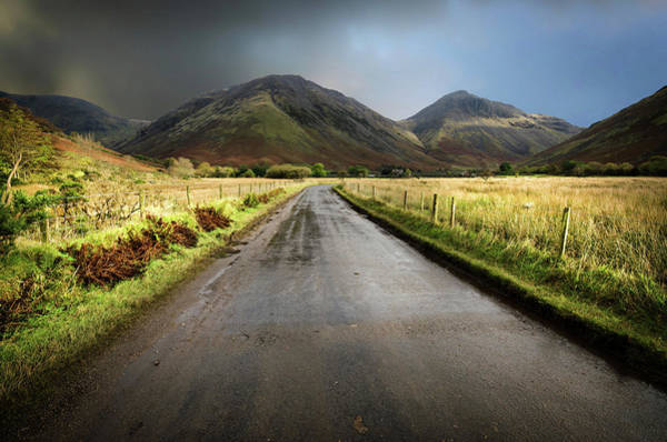 Wall Art - Photograph - The Road To Wasdale Head by Smart Aviation