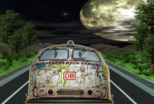 Digital Art - The Road Trip by Angela Hobbs