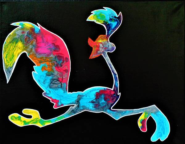 Painting - The Roadrunner by Dane Newton