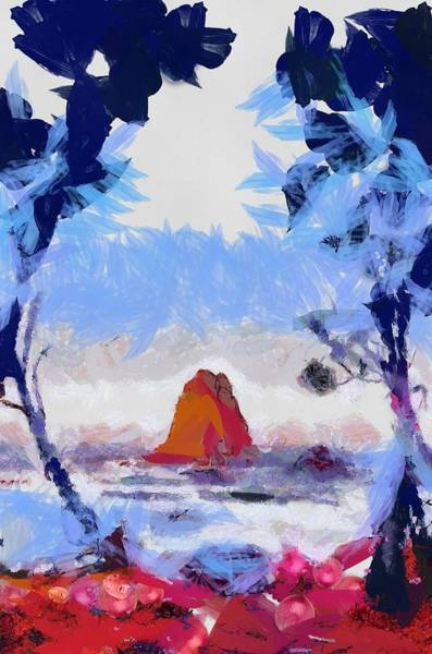 Digital Art - The Rock by Catherine Lott