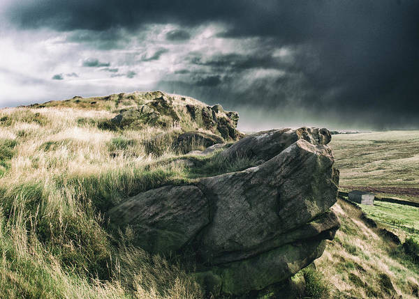 Peak District National Park Photograph - The Rock by Martin Newman