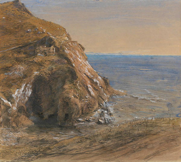 Painting - The Rock Slip Near Boscastle by Samuel Palmer
