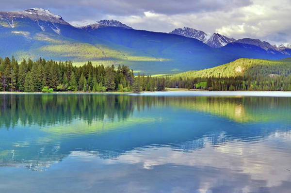 Photograph - The Rockies Reflected In Lake Annette by Tara Turner