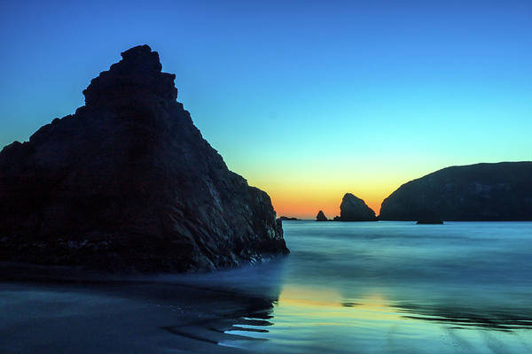 Photograph - The Rocks At Brookings by James Eddy