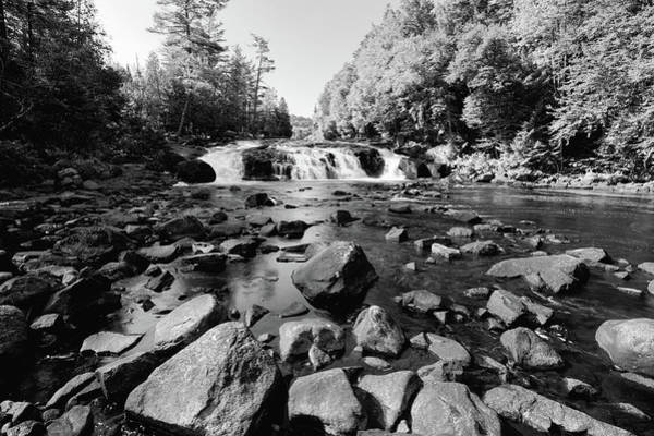 Photograph - The Rocks At Buttermilk Falls by David Patterson