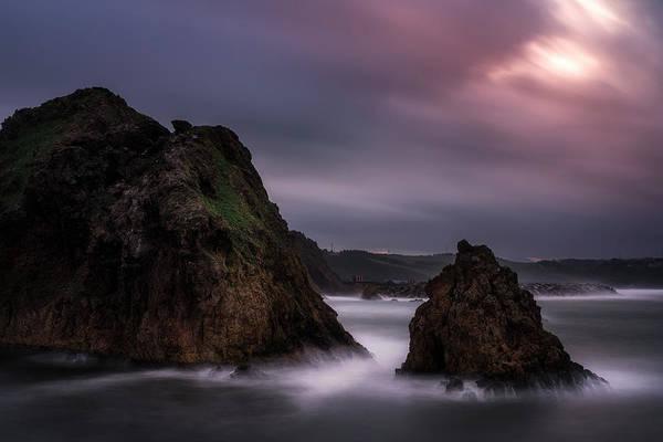 Wall Art - Photograph - The Rocks Of Gijon 1 by Adrian Malanca