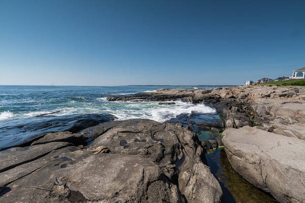 Photograph - The Rocky Coast Of Maine by Brian MacLean