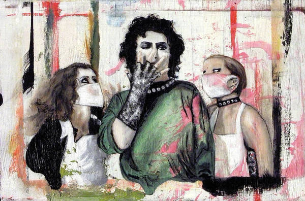 Wall Art - Painting - The Rocky Horror Picture Show by Rouble Rust