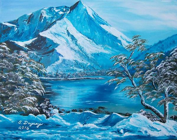 Painting - The Rocky Mountains  by Sharon Duguay