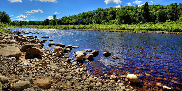 Photograph - The Rocky Shore Of The Moose River by David Patterson