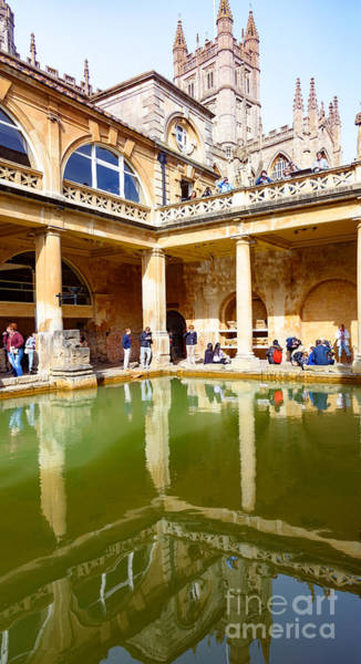 Photograph - The Roman Baths by Colin Rayner