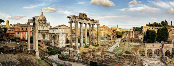 Photograph - The Roman Forum by Weston Westmoreland